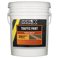 Acrylic Fast Set Traffic Paint