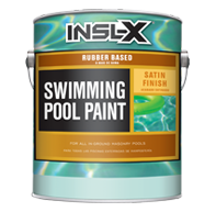 Rubber Based Swimming Pool Paint - Satin