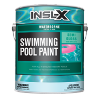 Waterborne Swimming Pool Paint - Semi-Gloss