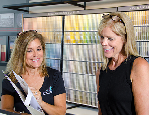Galveston Bay Paint & Decorating - Store of the Future